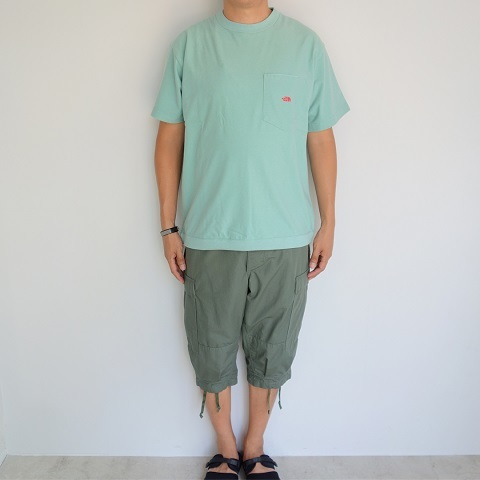 THE NORTH FACE PURPLE LABEL : High Bulky H/S Pocket Tee_a0234452_18230405.jpg