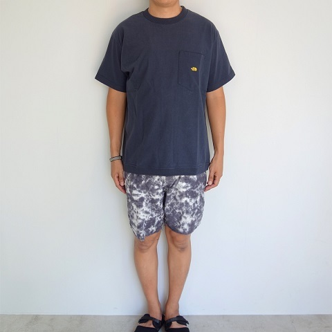 THE NORTH FACE PURPLE LABEL : High Bulky H/S Pocket Tee_a0234452_18231804.jpg