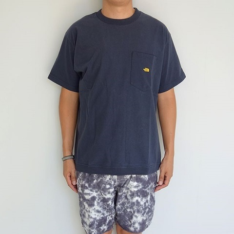 THE NORTH FACE PURPLE LABEL : High Bulky H/S Pocket Tee_a0234452_18232162.jpg