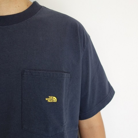 THE NORTH FACE PURPLE LABEL : High Bulky H/S Pocket Tee_a0234452_18232576.jpg