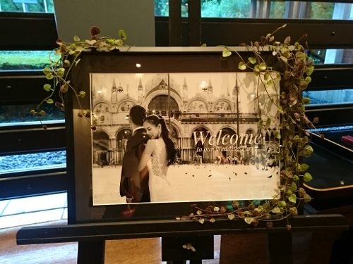 今年初めての花火は Wedding party ♡でした~_c0181058_12095477.jpg