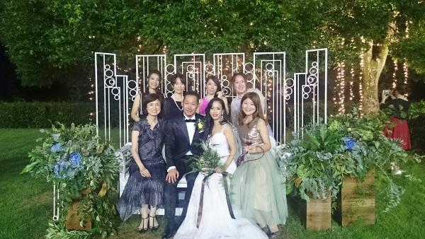 今年初めての花火は Wedding party ♡でした~_c0181058_12251028.jpg