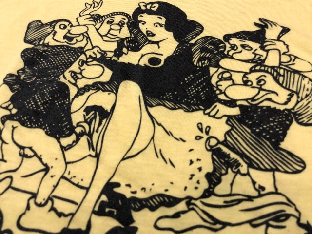 8月1日(水)大阪店ヴィンテージ入荷日!!#3 Vintage T-Shirt編!Snow White&The Six Punks!!_c0078587_1327367.jpg