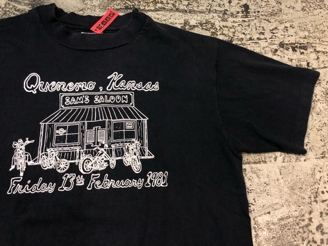 8月1日(水)大阪店ヴィンテージ入荷日!!#3 Vintage T-Shirt編!Snow White&The Six Punks!!_c0078587_1512380.jpg