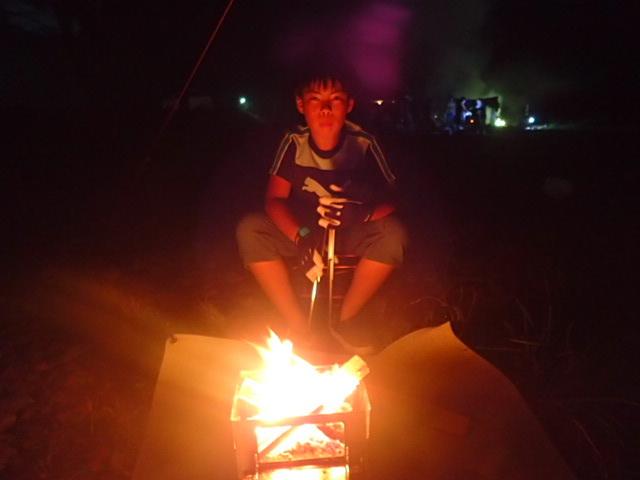 長男と自転車キャンプに行ってきました。_e0215910_16483372.jpg