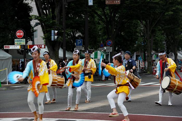 仙台市夏祭り 「スズメ踊り」_d0106628_20550155.jpg