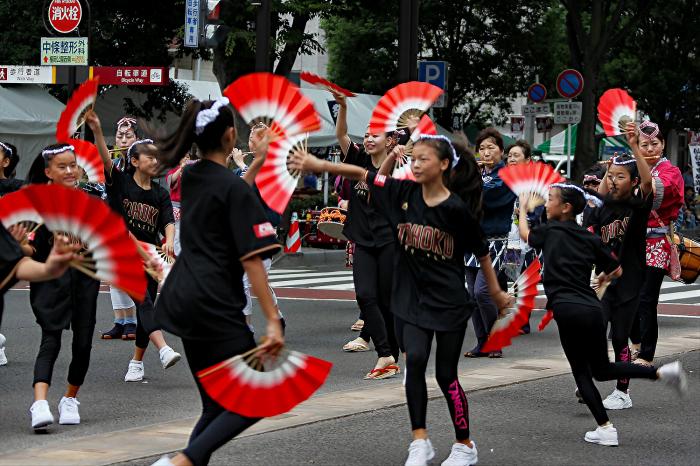 仙台市夏祭り 「スズメ踊り」_d0106628_20552881.jpg