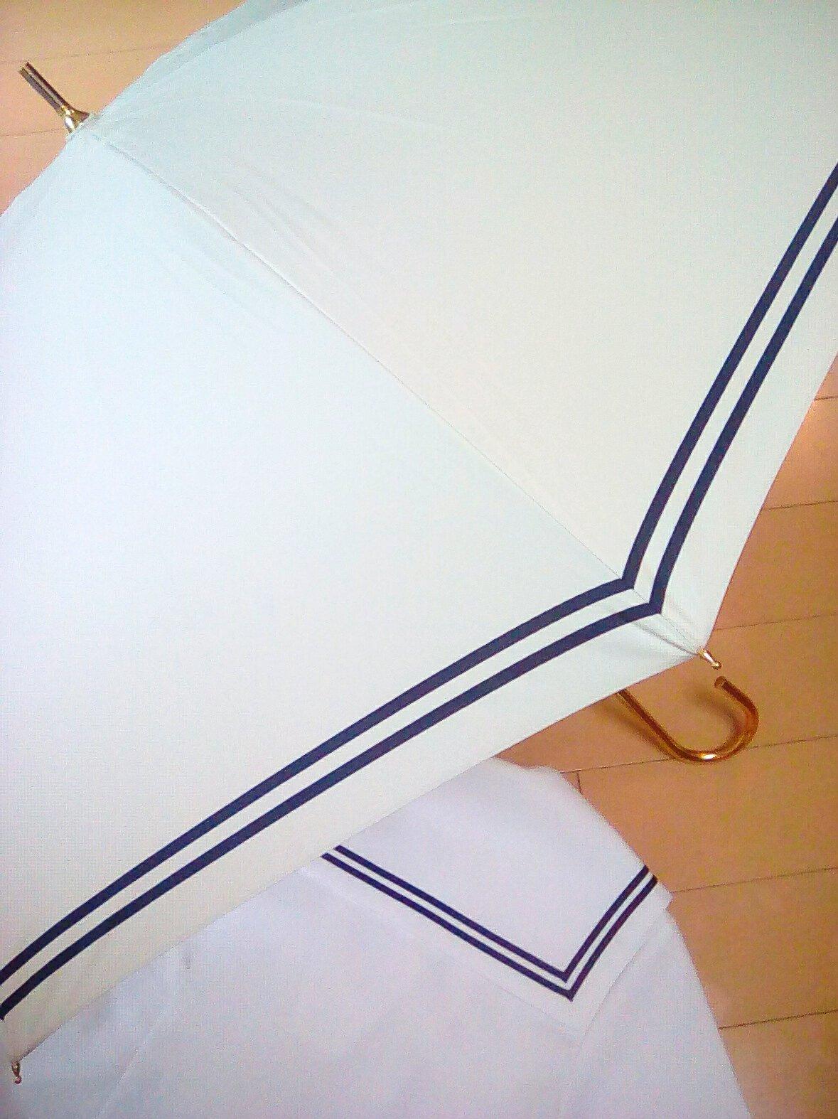 買ってよかった ♥ J K ( 女子高生 ) の日傘 🌺_e0379544_13163450.jpg