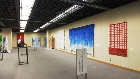 作業日誌(第40回日本新工芸展近畿展作品搬入展示作業)_c0251346_16082933.jpg