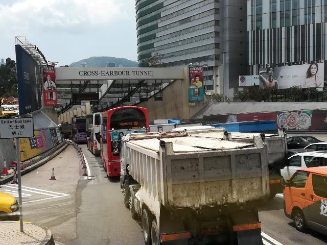 過海隧道巴士110號@尖東站→筲箕灣廣場_b0248150_15273896.jpg