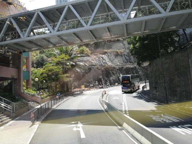 過海隧道巴士110號@尖東站→筲箕灣廣場_b0248150_15413750.jpg