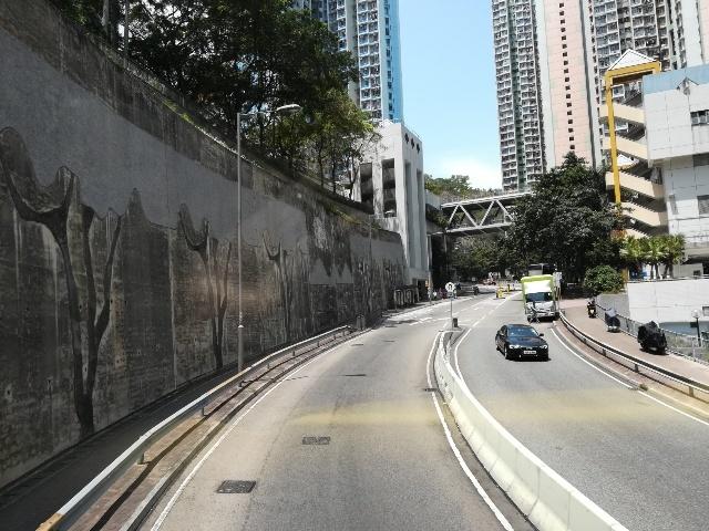 過海隧道巴士110號@尖東站→筲箕灣廣場_b0248150_15430413.jpg
