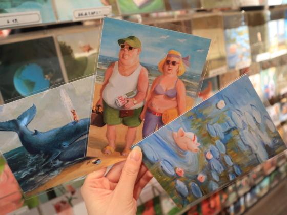 フランス&ドイツのポストカードコーナーが大賑わい!_c0219051_17403017.jpg