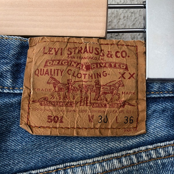 Levi\'s 501 MADE IN USA_c0146178_14045632.jpg