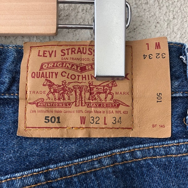 Levi\'s 501 MADE IN USA_c0146178_14071922.jpg