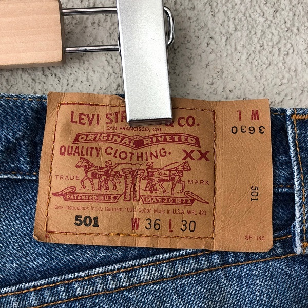 Levi\'s 501 MADE IN USA_c0146178_14245307.jpg