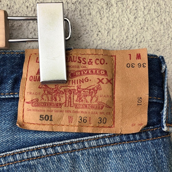 Levi\'s 501 MADE IN USA_c0146178_14254738.jpg