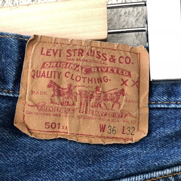 Levi\'s 501 MADE IN USA_c0146178_14263037.jpg