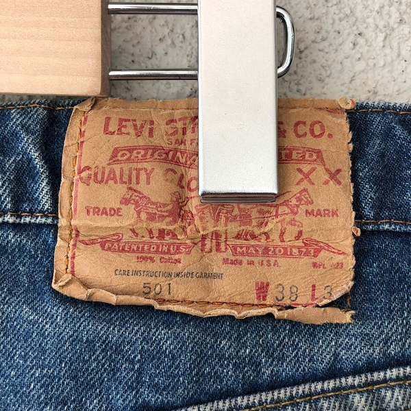 Levi\'s 501 MADE IN USA_c0146178_14301133.jpg