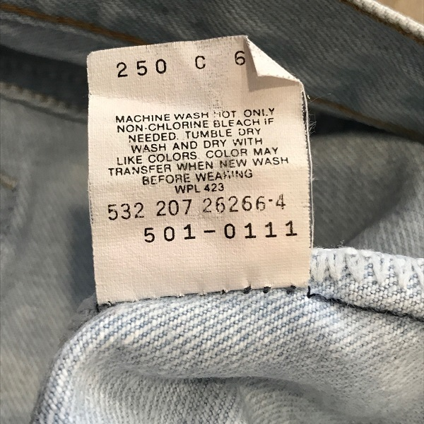 Levi\'s 501 MADE IN USA_c0146178_16272728.jpg