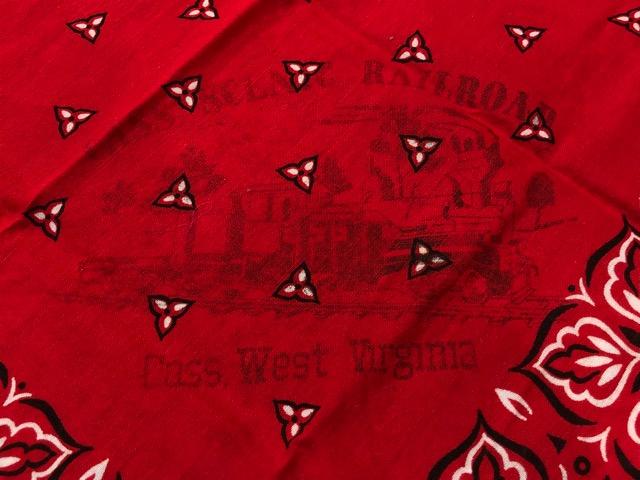 8月1日(水)大阪店ヴィンテージ入荷日!!#7 MIX編!Shirt&BorderT、Denim、Bandana!!_c0078587_3275914.jpg