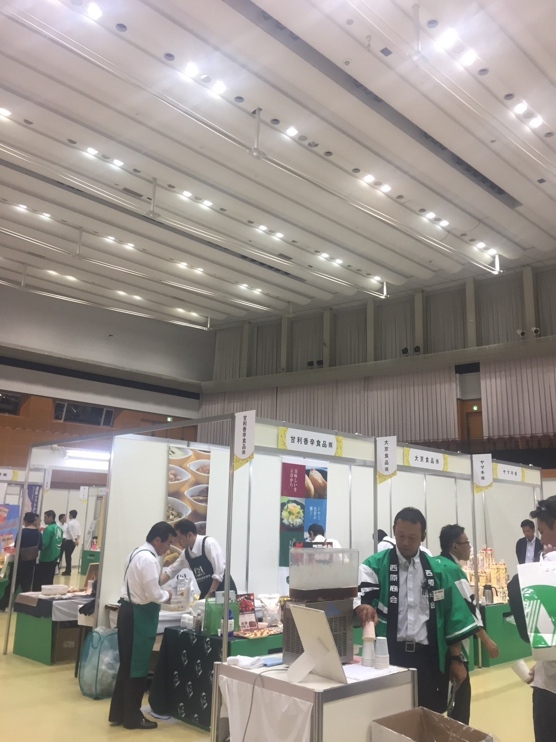 商品展示会  @米子_e0115904_14245459.jpg