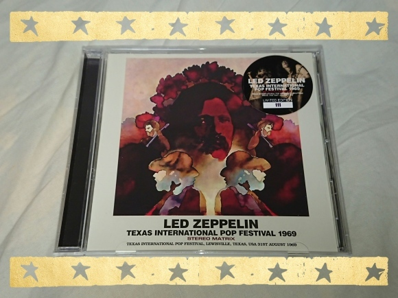 LED ZEPPELIN / TEXAS INTERNATIONAL POP FESTIVAL 1969 STREO MATRIX_b0042308_14450889.jpg