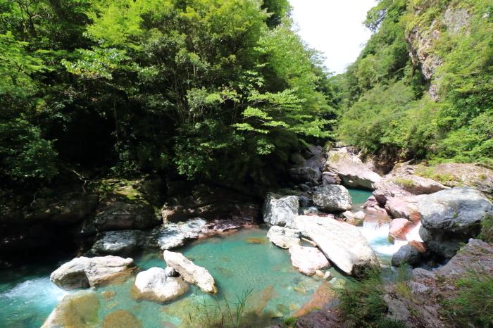 【中津渓谷】四国旅行 - 8 -_f0348831_04295347.jpg