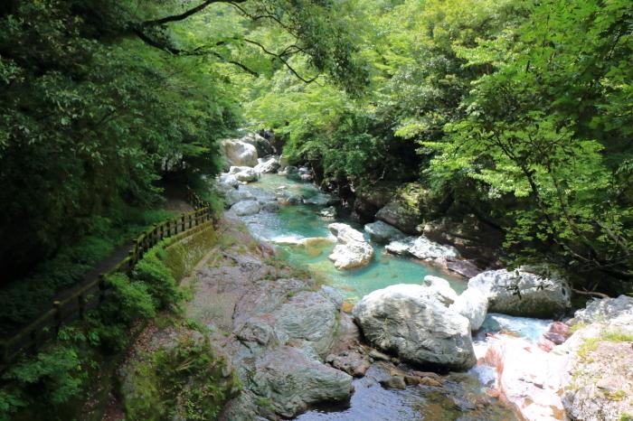 【中津渓谷】四国旅行 - 8 -_f0348831_04301131.jpg