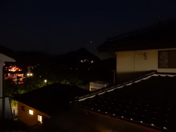 南の空に火星が輝く_e0175370_10023934.jpg
