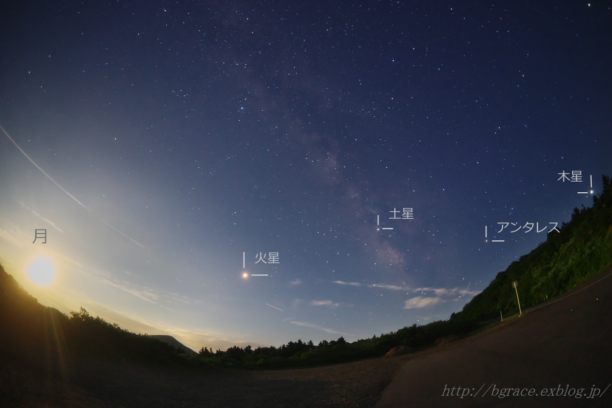 火星大接近の夜 2018.7.31_b0191074_19360298.jpg