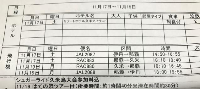 11/17(土)18(日)開催‼️ 〝シュガーライド久米島〟_e0363689_17271045.jpg