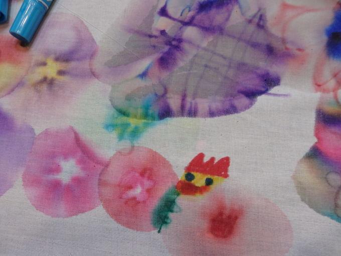 夏休み♪企画展関連ワークショップ「ハナマンのお花畑」 こども*夏休み*工作_f0296936_23245452.jpg