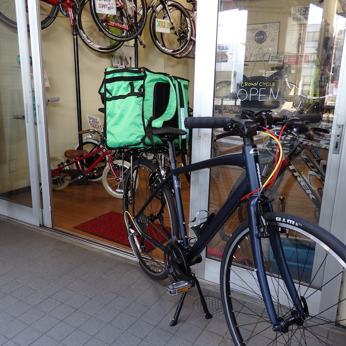 ウーバーイーツにこんな自転車いかが? & 8月の臨時休業のご案内_c0316555_16073093.jpg