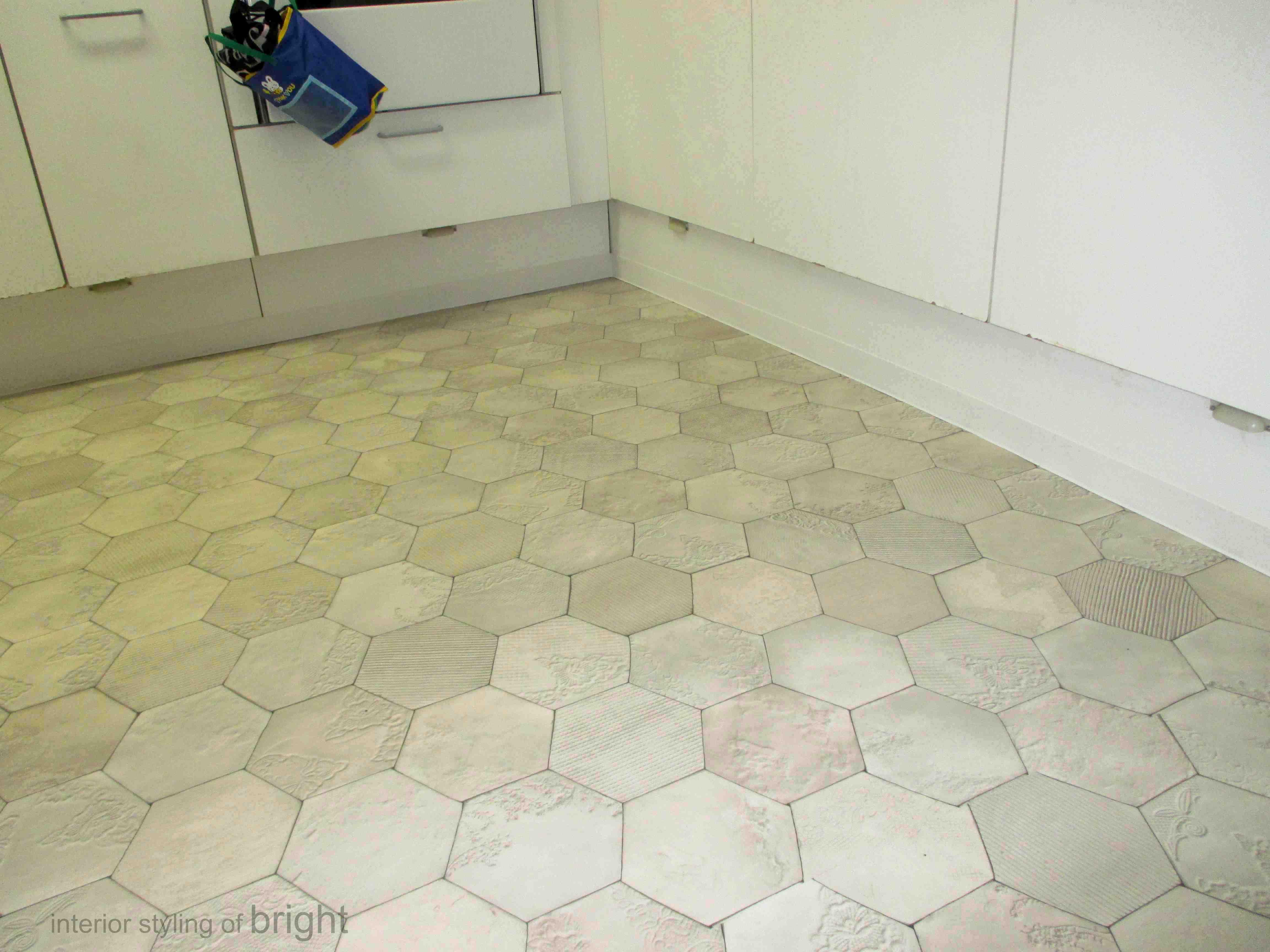 キッチンのクッションフロア(CF)張替え工事_c0157866_18022949.jpg