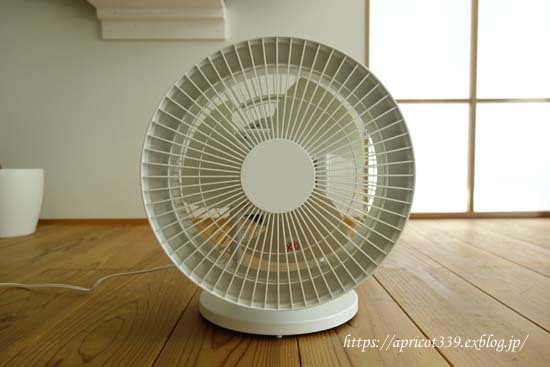 部屋の温度ムラをなくしたい!無印良品のサーキュレーター_c0293787_10545771.jpg