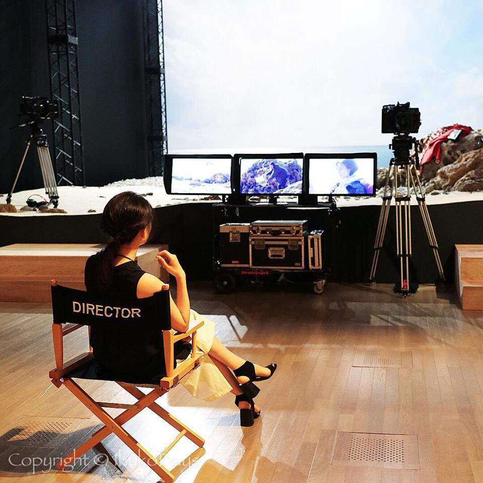HERMESの体験型展示会 A MOVIE SHOOT EXPERIENCE 「彼女と。」:『国立新美術館』六本木・乃木坂_d0114093_06492048.jpg