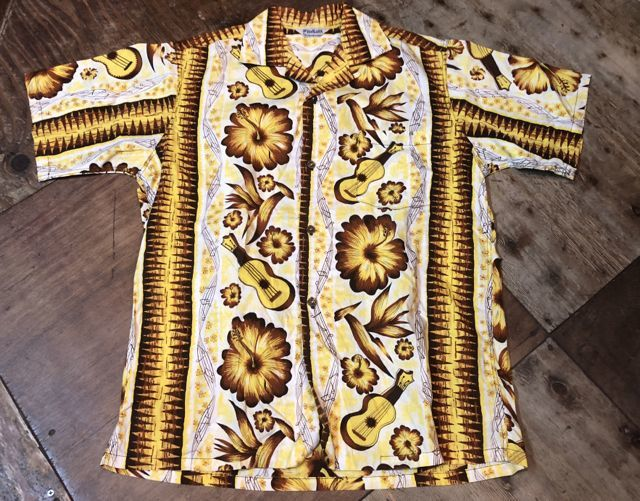 8月4日(土)入荷!60s HoALOHA all cotton Hawaiian shirts!_c0144020_13411515.jpg