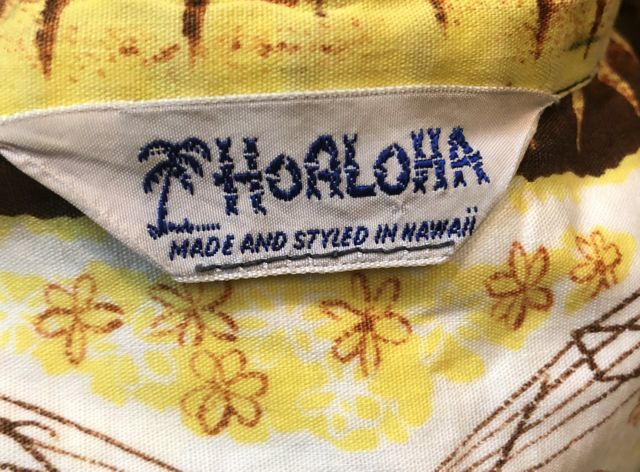 8月4日(土)入荷!60s HoALOHA all cotton Hawaiian shirts!_c0144020_13411896.jpg