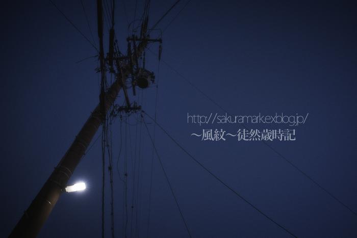 熱波の中の夕闇空。_f0235723_2032942.jpg
