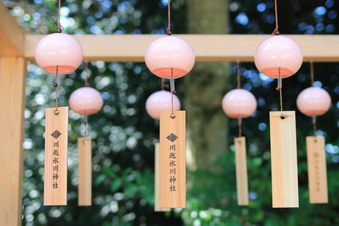 【川越氷川神社】縁結び風鈴♪_f0348831_05143203.jpg