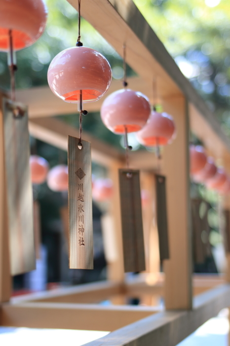 【川越氷川神社】縁結び風鈴♪_f0348831_05150671.jpg