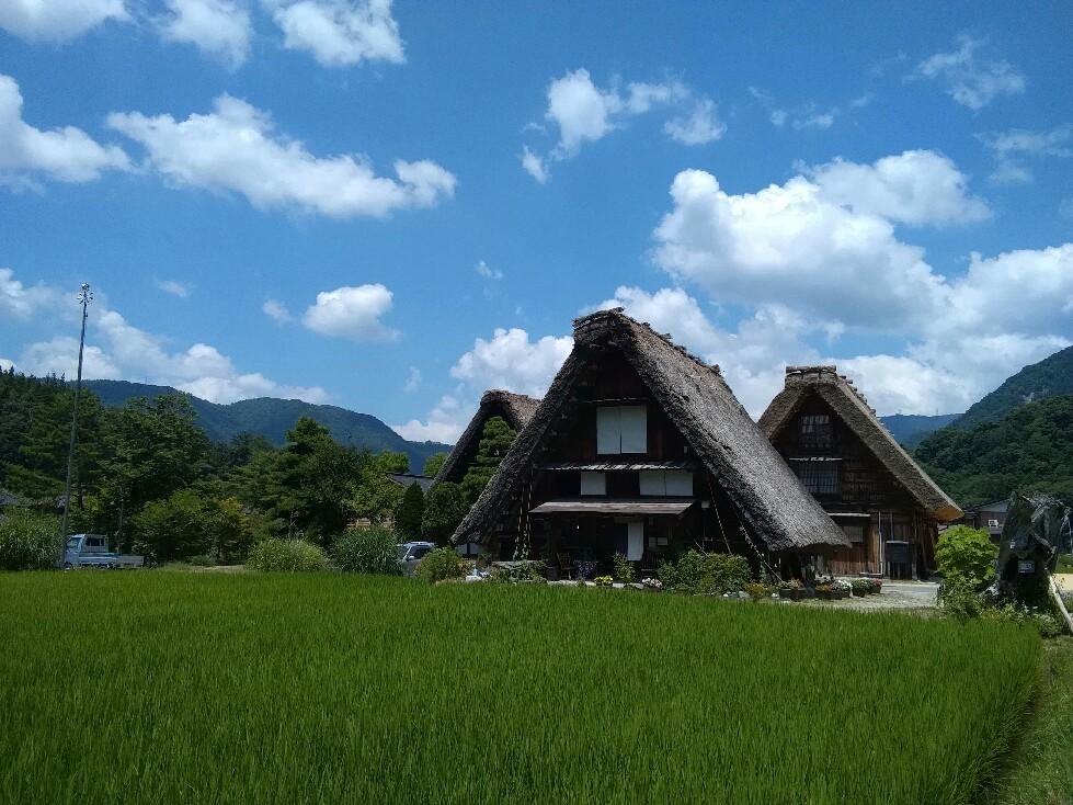 古きよき日本の風景~☆ #白川郷_a0004752_19184240.jpg