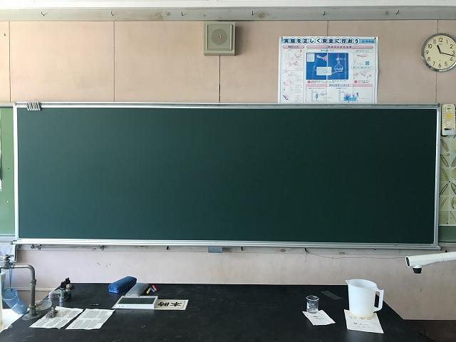黒板の貼り替え修理_c0215194_20183701.jpg