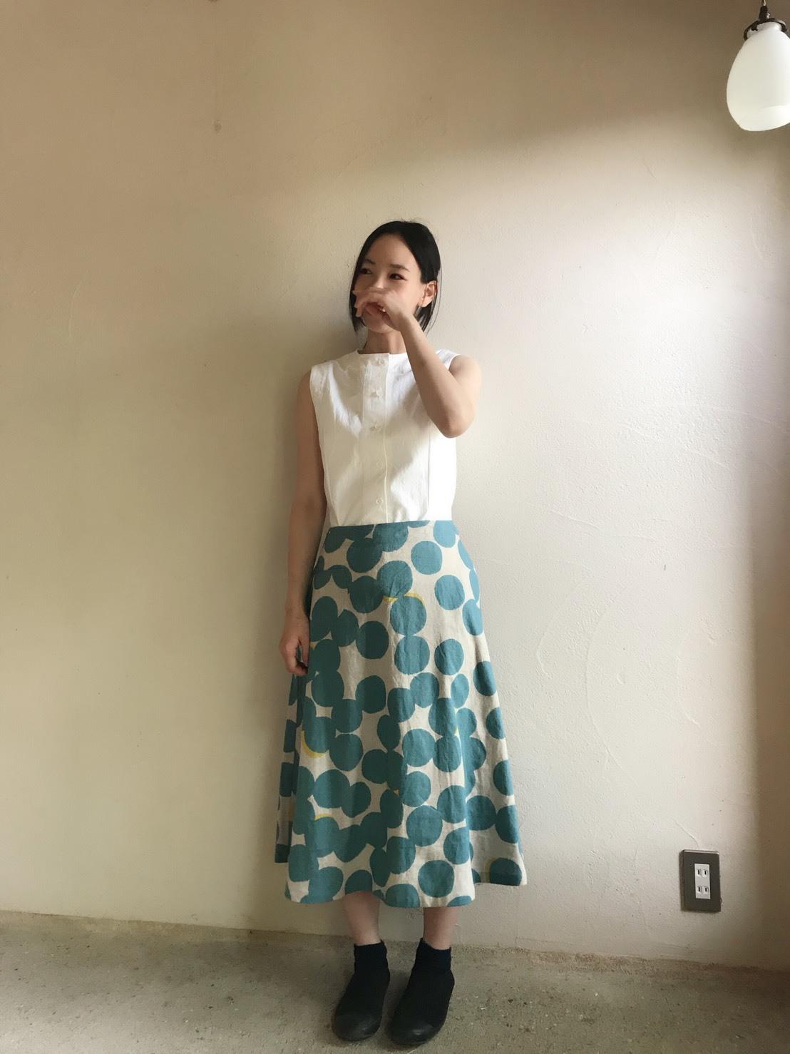 三橋妙子さんの展示会始まっています。_c0256701_21075009.jpg