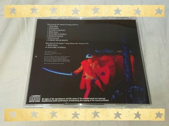 BLACK SABBATH / PARANOID UK ORIGINAL LP_b0042308_16513329.jpg