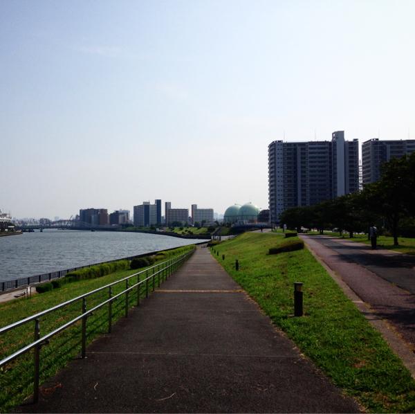 隅田川沿いを歩いていたらふいに_c0060143_14534016.jpg