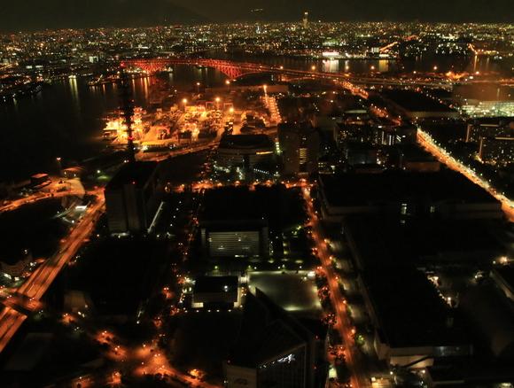 ATCから見る大阪府内の夜景・・_d0202264_23501542.jpg