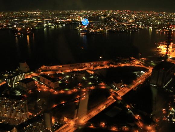 ATCから見る大阪府内の夜景・・_d0202264_23502776.jpg