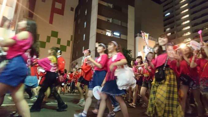 日本郵政グループ、函館大谷短期大学。ワッショイはこだて千代台五稜郭コースより_b0106766_113363.jpg
